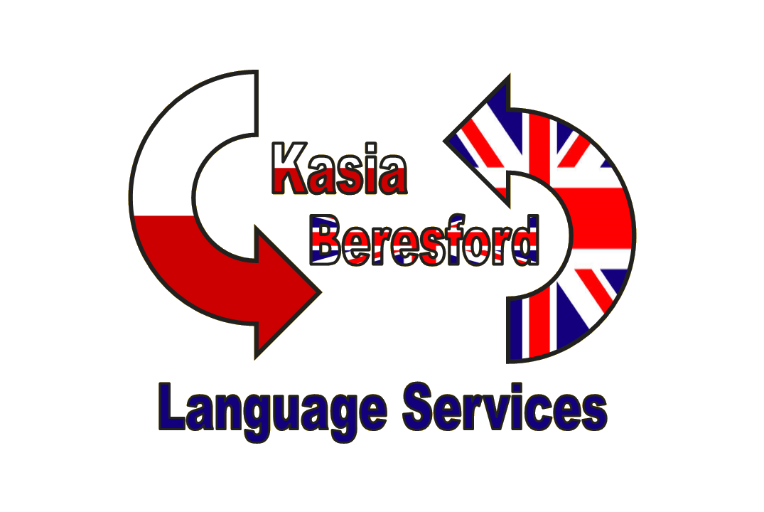 Kasia Beresford Polish-English Language Services logo - Polish interpreting and literary translation from Polish to English